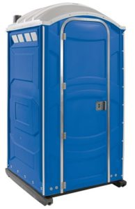Jimmy's Johnnys Blue Standard Portable Restroom Unit