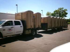 Jimmy's Johnnys Portable ADA Restroom Delivery