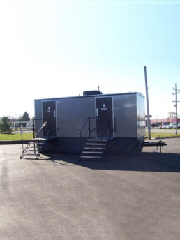 20-foot luxury restroom trailer for large events