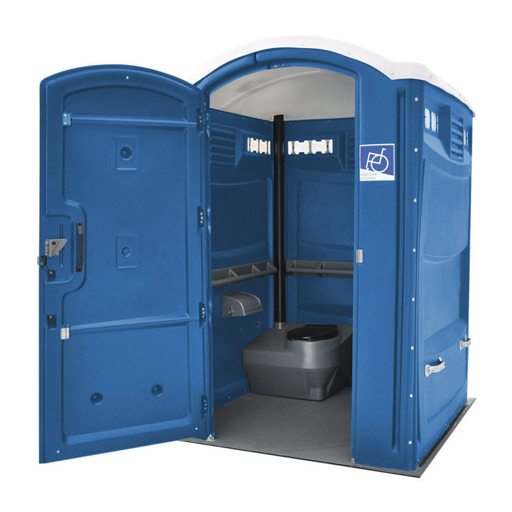 Jimmy's Johnnys Handicap Accessible Portable Toilet