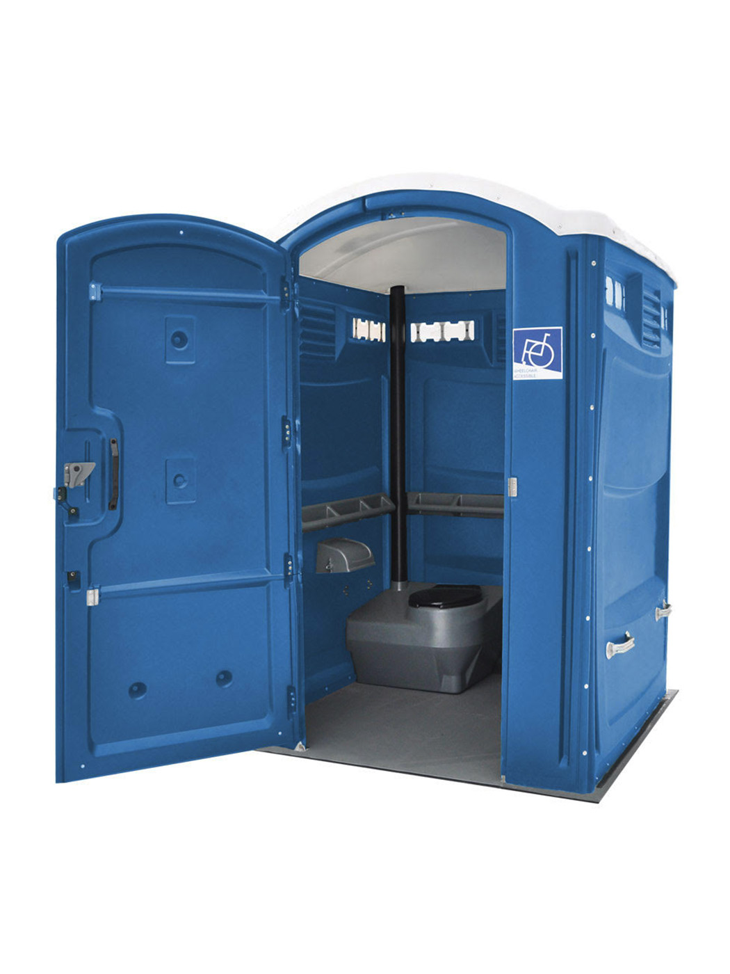 Jimmy's Johnnys Handicap Accessible Portable Toilet