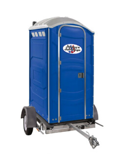 Portable Toilet Single Unit Trailer