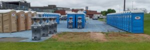 portable restrooms, sinks, and luxury restroom trailers for event and wedding rental, Jimmy's Johnnys Inc, Minneapolis MN