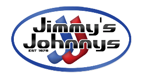 Small event or party? Purchase your weekend porta potty rental online now. It's so easy! - image logo-jimmy-min on https://jimmysjohnnys.com