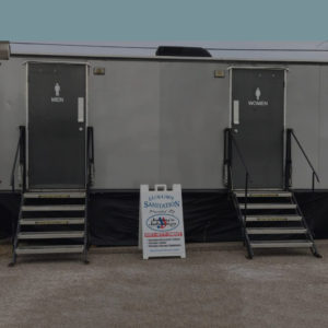Luxury Restroom and Shower Trailers