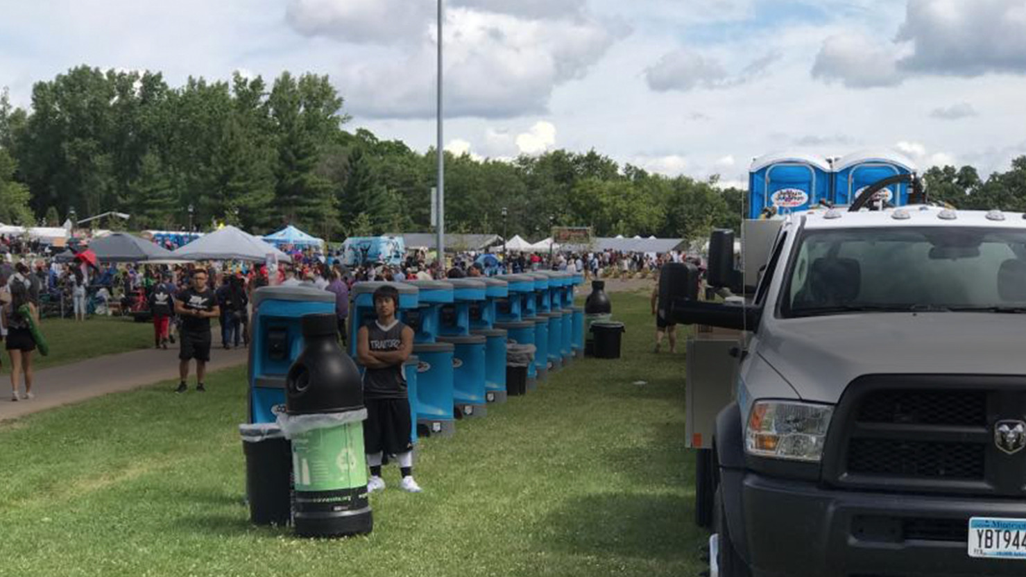 Portable Toilet and Handwashing Stations for Festivals and Events in Minneapolis Minnesota